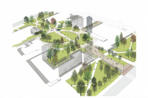 Brunswick Park plan. Image: University of Manchester