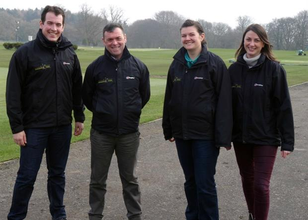 British Sugar TOPSOIL SalesTeam - L to R Sam Colman, Andy Spetch, Sally Walton, Natalie Gudgin
