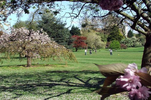 Bute Park, Cardiff. Image: HLF