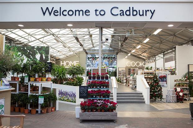 Wyevale's redeveloped Cadbury Garden Centre in Bristol - image: Wyevale Garden Centres