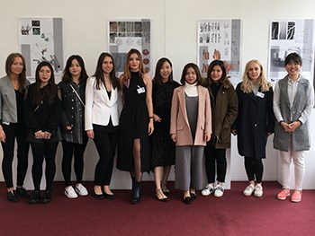 Shortlisted BA (Hons) Jewellery and Objects students at Chatsworth House