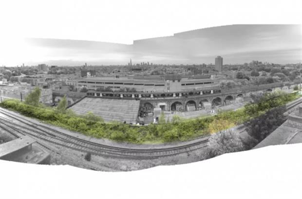 The Peckham Coal Line. Image: Supplied
