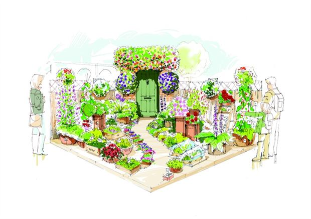 Seeds garden