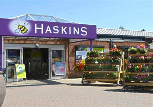 Haskins Garden Centre Snowhill - image: Haskins