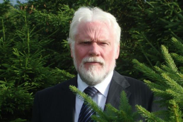 British Christmas Tree Association secretary Harry Brightwell