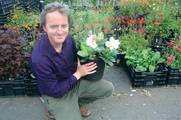Glendoick Gardens director Ken Cox