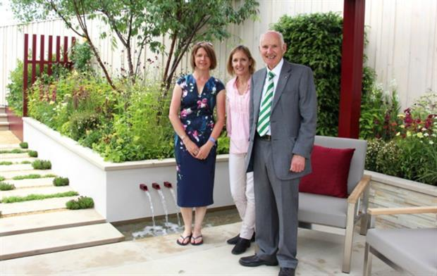 Catherine MacDonald (Landform Designer), Sarah Squire (Squire's Deputy Chairman) & Colin Squire (Squire's Chairman)