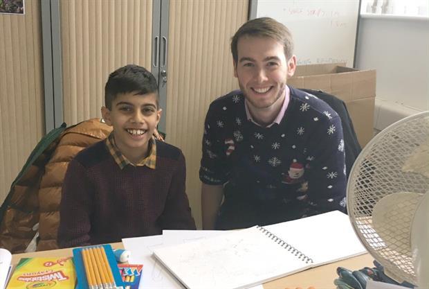 Aidan Parmar and Lewis Simper