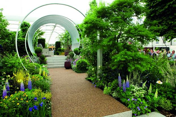'Spring' by Hillier Nurseries garden wins gold at RHS Chelsea Flower Show 2017 - image: HW