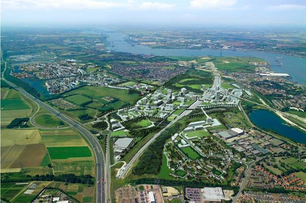 Ebbsfleet's new garden city will have 15,000 homes. Image: Miller Hare Ltd