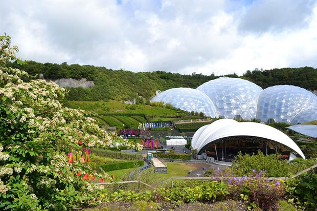 Fortunes are improving at the Eden Project - image: Pixabay