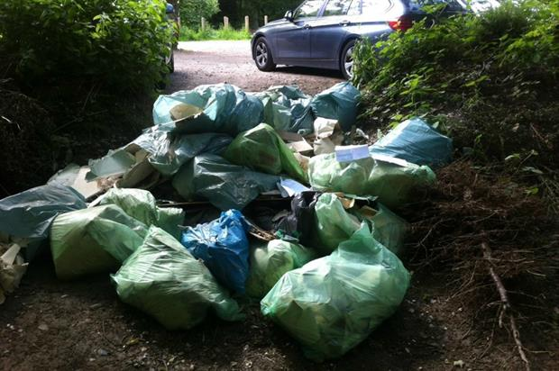 Man fined for fly tipping in Epping Forest. Image: City of London