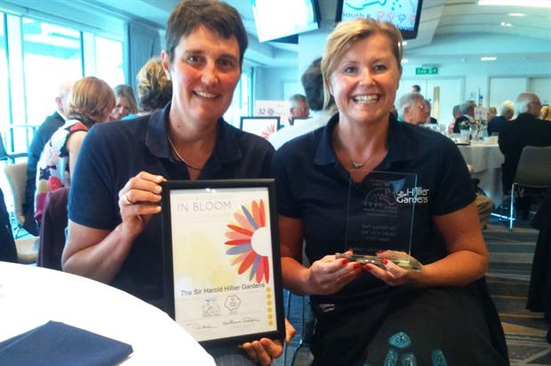 Hillier head gardener Fran Clifton and marketing manager Tracy Randall. Image: Supplied