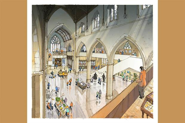 Artist's impression of the new museum. Image: Supplied