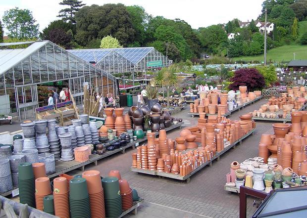 Garden centre sales flatten