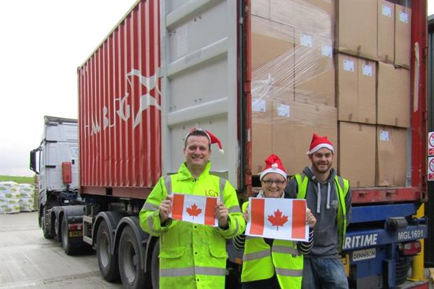Green-tech's team with the Canada order. Image: Supplied