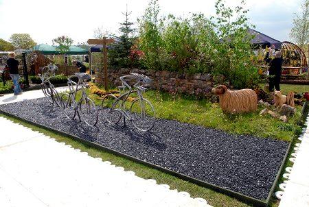 Harrogate tour de France garden