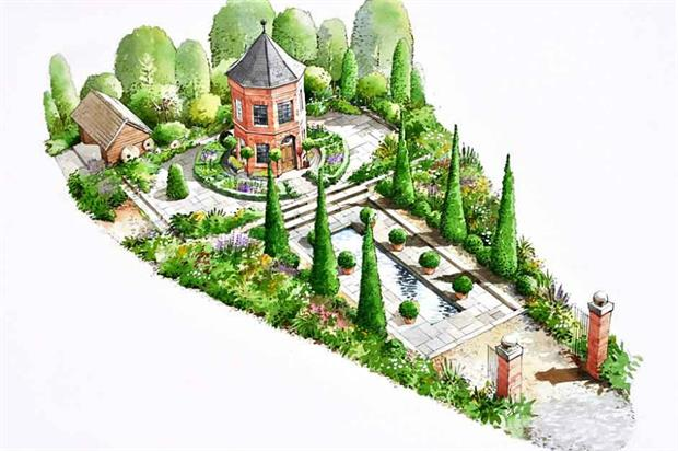 Diarmuid Gavin's Harrods Eccentric British garden. Image: Supplied