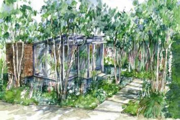 The Hartley Botanic Chelsea show garden. Image: Supplied