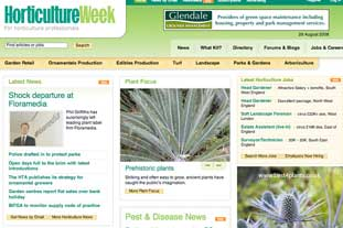HorticultureWeek.co.uk - the brand new site