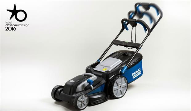 MacAllister sliding handle lawnmower-Kingfisher