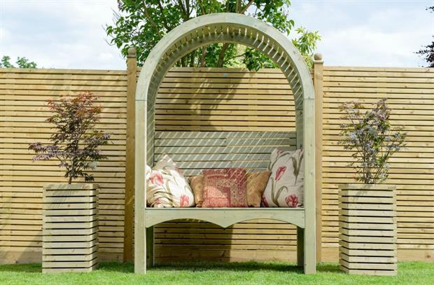 Contemporary Garden Arbour