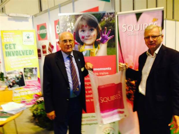 Greenfingers' John Ashley and Squires' Dennis Espley