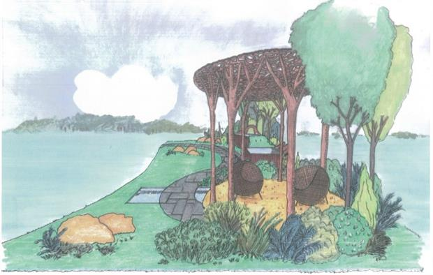 Victoria Truman's tribute to Capability Brown at RHS Hampton Court Flower Show