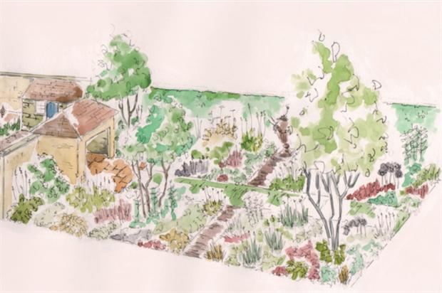 The Perennial Legacy Garden. Image: Paul Hervey-Brookes