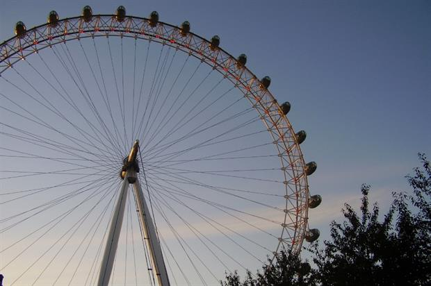 The London Eye in Waterloo. Image: MorgueFile