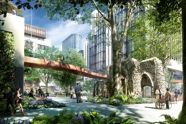 London Wall Street, artist's impression. Image: Supplied