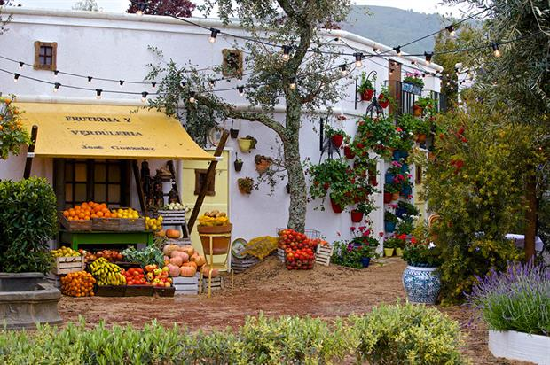 An Andalusian Moment from Villaggio Verde, which won Best Show Garden
