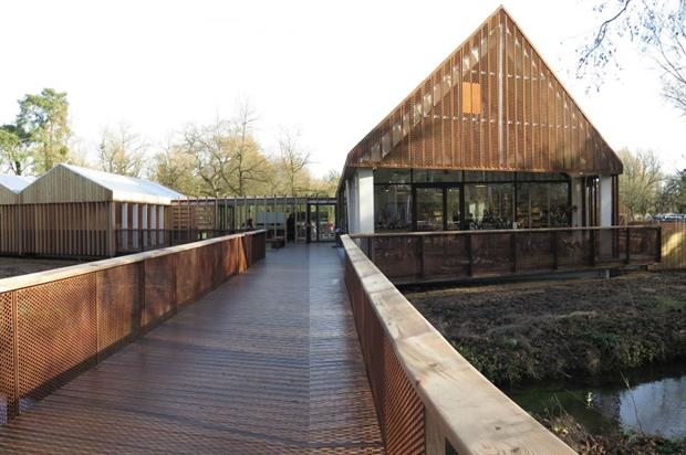 The new Welcome Centre at Mottisfont. Image: Supplied