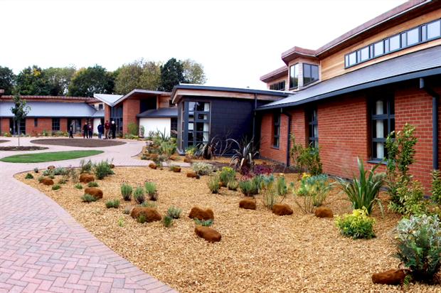 Norfolk Hospice garden. Image: Supplied