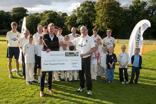 Normanby Park Cricket Club, one of the three winners. Image: Supplied