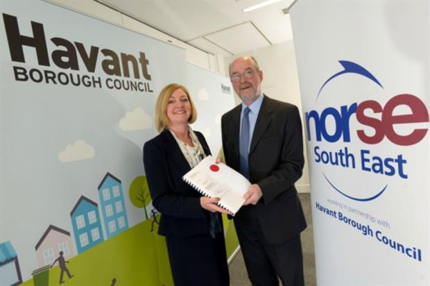 Norse and Havant Borough Council create joint venture company. Image: Supplied