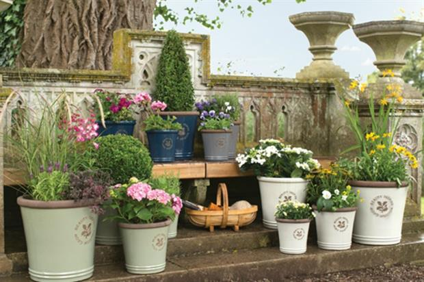 The Inspire range of National Trust garden containers