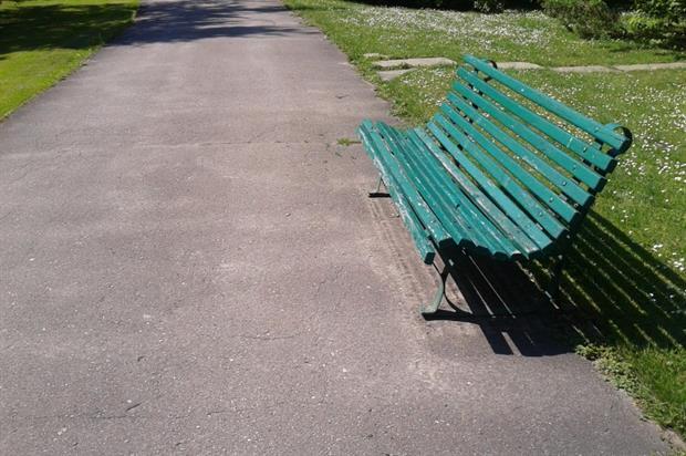 Park bench. Image: MorgueFile
