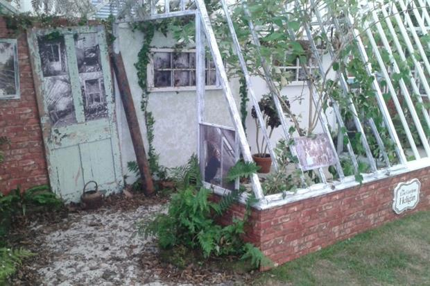 The Peach House. Image: Lost Gardens of Heligan