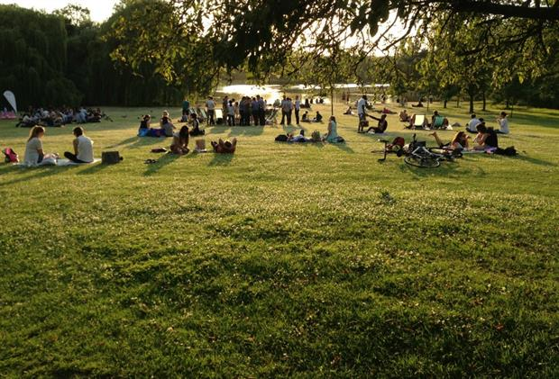 Fields in Trust hopes the day will show extent of public's love of parks. Image: HW