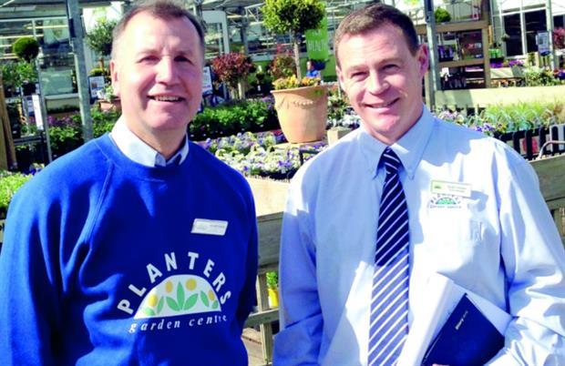 Owner Gerald Ingram and manager Stuart Gooden