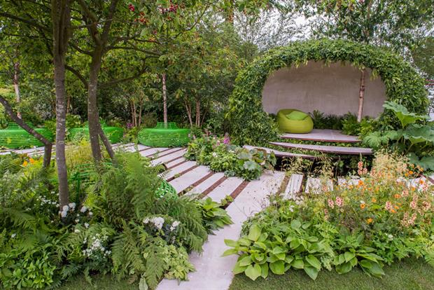 Bbc and rhs launch hampton court garden design competition for Bbc garden designs
