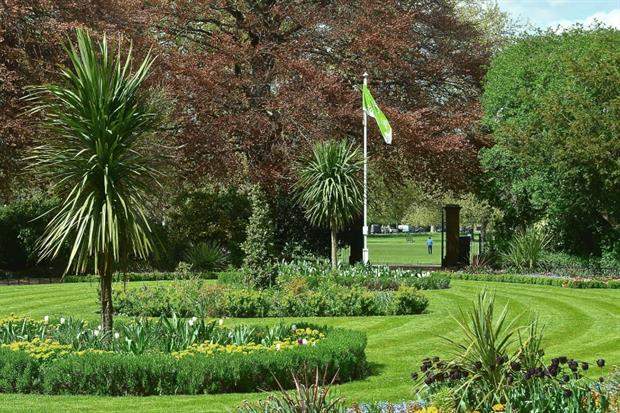 Peckham Rye Park in Southwark, maintained by Quadron. Image: Quadron