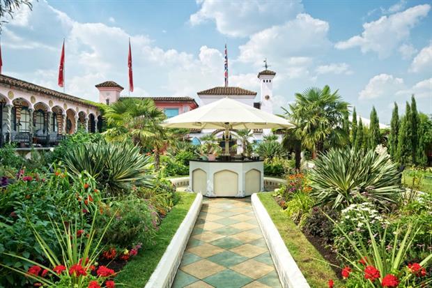 Kensington Roof Gardens were part of Open Garden Squares 2015. Image: Virgin Limited Edition
