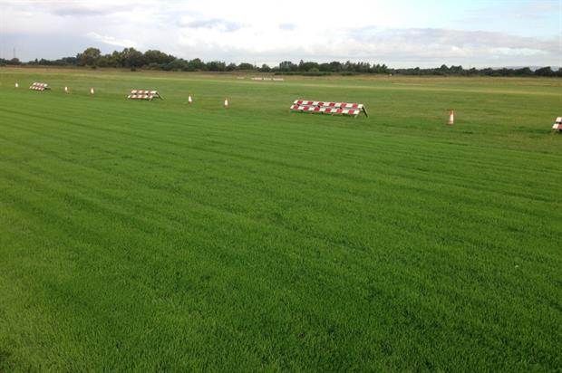 City Airport Manchester's resown runway. Image: Morguefile