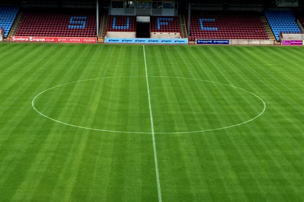 Scunthorpe United's grounds. Image: Supplied