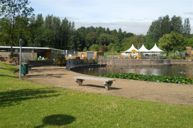 Telford Town Park. Image: Supplied