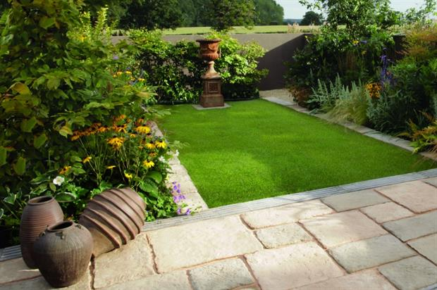"""Paul Hervey-Brookes' """"Town Garden"""" design for Bradstone. Image: Supplied"""
