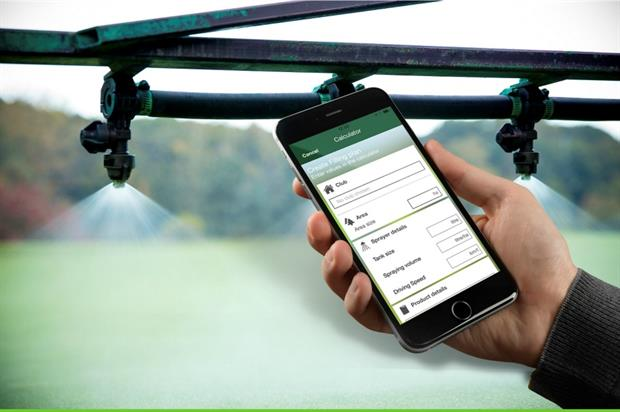 Greencast Turf App. Image: Syngenta