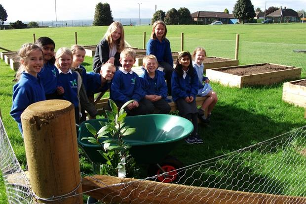 Listerdale Primary School children. Image: Supplied